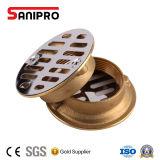 2 in. Chrome-Plated Brass Threaded Shower Stall Strainer