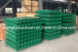 Manganese Casting Parts Jaw Plate for Jaw Crusher