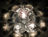 Transparency LED Crystal Ceiling Lamp