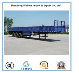 3 Axles Side Wall Truck Trailer of Semi Trailer