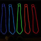 EL Wire Illuminated Light up Tie