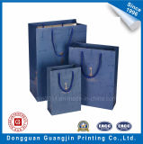 High Quality Laminated Paper Gift Bag with Golden Logo