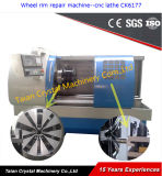New China Cheap Alloy Wheel CNC Lathe (CK6177)
