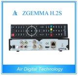 Twin Tuner Satellite Receiver Dual Core Zgemma H. 2s DVB-S2+DVB-S2 HD