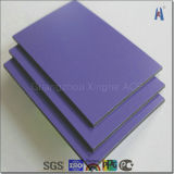 Romantic Violet Aluminum Composite Panel Construction Decoration Material