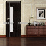 Waterproof Fire-Resistant WPC PVC Laminated Entry Door for Toilet (KMB-07)