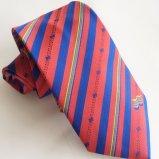 Handmade Men′s Jacquard Polyester Logo Tie