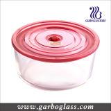 Glass Round Box, Round Bowl, Storage Bowl, Glass Container (GB13G15187)