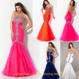 Wholesale Long Fishtail Prom Evening Dress (EDW061)