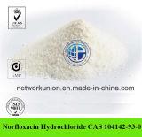Norfloxacin Hydrochloride CAS 104142-93-0 99% Veterinary Medicine Norfloxacin HCl