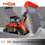 Everun CE Approved 1.5ton Compact Wheel Loader