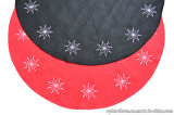 Non-Woven Polyester Christmas Tree Decorative Rug/Mat with Embroidering