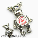 Souvenir Canada Montreal 3D Metal Moose Fridge Magnet (BK8270)