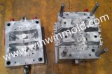 2 Cavity Collapsible Unscrewing Core High Precision Plastic Injection Mold