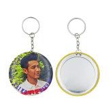 Latest Fashion High Quality Tin Mirrors Keychain