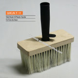 F-11 Wooden Handle Synthetic Filaments Wall Brush