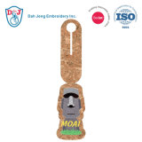 Luggage Tag/ ID Card Holder/ PU Leather- Moai
