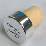 Macromolecular Wine Bottle Stopper T-Top Cork Synthetic Cork with Aluminum Coating