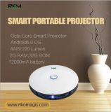 Octa core android 6.0 mini smart projector ANIS 220 Lumens