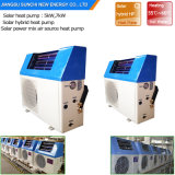 CE Home Dhw Fast Heating 60deg. C 220V Tankless 5kw, 7kw, 9kw Supper Cop5.32 Save 80% Energy Air Heat Pump Hybrid Solar Boiler 12V