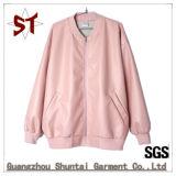 OEM High Quality Women Stand Collar Jacket Coat Baseball Jacket