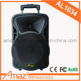 "10"" Lithium Battery Trolley Speaker with Wireless Microphone"