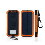 Top Selling Solar Power Bank 12000 mAh Engrave Power Bank for Outdoor Activity