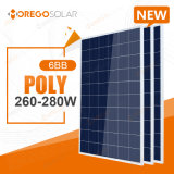 Morego Newest 6bb Poly Solar Cells Panel 265W 270W 275W