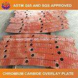 Bimetallic Chromium Carbide Overlay Wear Plate