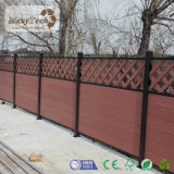Hot Selling Outdoor Fire-Resistant Garden WPC Fence Panel