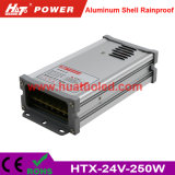 24V-250W Constant Voltage Aluminum Shell Rainproof LED Power Supply