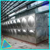 Environment Treatment Stainless Steel Water Tank with ISO Certificated
