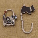 Promotion Gifts Custom Dog Shaped Purse Hook for Ladies