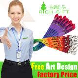 High Quality Custom Printing Nylon Neck Lanyard as Promotion Gift