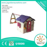 Children Indoor Playground Playhouse with Swing with CE/ISO Certificate