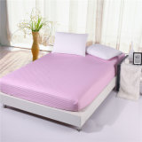 Classic Sateen Bedroom Bed Fitted Sheet Set