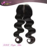 Xbl Middle Parting Closure Virgin Peruvian Hair Lace Closures