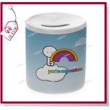 11oz Sublimation Ceramic Piggy Bank with Custom Logo