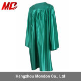 Shiny Kelly Green Graduation Gown for Kindergarten