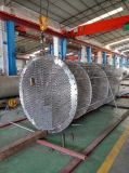Shell and Tube Heat Exchanger for Chemical or Alcohol Production