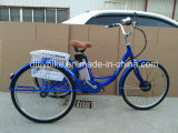 26inch Electric Tricycle, Lithium Battery, Electric Power Assisted Mode