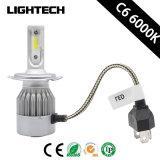 High Power 40W 7600lm HID Kit H4 LED Car Headlight