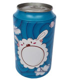 Beer Can Shaped Metal Tin Storage Box for Student