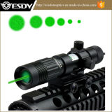 Adjustable Green Laser Sight Designator/Illuminator/Flashlight W/Weaver Mount