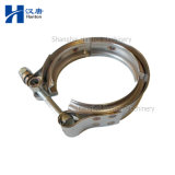 Cummins 6ISBE6.7 diesel engine motor parts pipe V band clamp 3415547