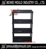 Heavy Duty Injection Plastic Storage Shelving Storage Rack Mould