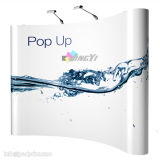 8FT High Quality Magnetic Arc Pop up Stand Banner