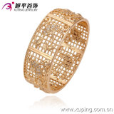 New Xuping Fashion Big Wider Thick Bangle Plated with Flowers