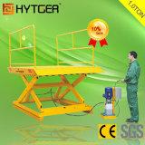 Low Price 1.0ton Stationary Hydraulic Scissor Lift Platform (SJG1)