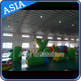 Commercial Inflatable Green Paintball Bunker Round Shape